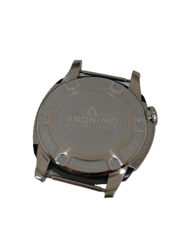 Anonimo Nautilo Automatic AM 1002.01 Uhrband schwarz rot