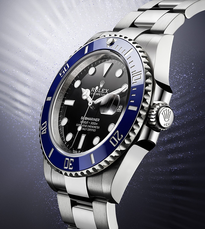 Submariner Date Oyster, 41 mm, Weißgold